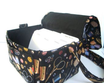 Large 4 Inch Size Coupon Organizer / Coupon Bag /Budget Holder Box Attaches to Your Shopping Cart Sewing Notions -- Pick Your Size