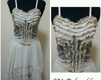 Complete: skirt and embroidered bodice