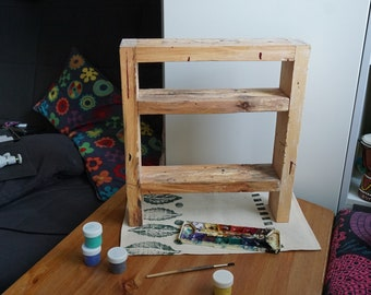 "wooden shelf ""Paint Killer"""