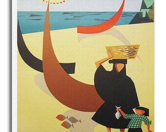Portugal Print Travel Poster Retro Art Gift Hanging Wall Decor xr585