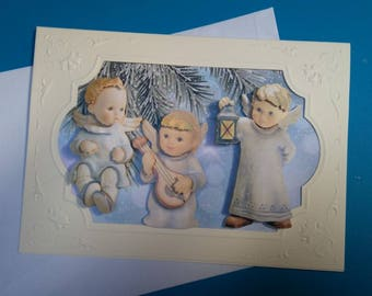 HAND made 848 3D greeting card