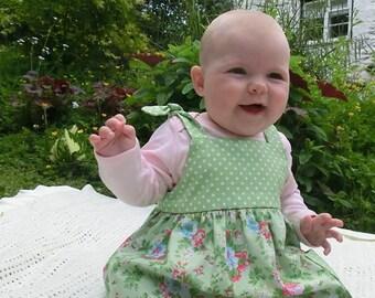 Baby Dress  Sewing Pattern PDF - Instant Downlaod