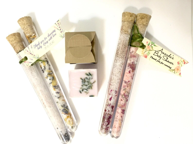 15 Bath Salt Party Favors Custom Labels Bridal Shower