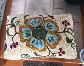 Millie pattern for our Queen Anne style footstool base