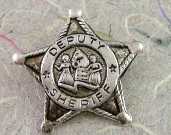 Vintage Novelty Deputy Sheriff Badge