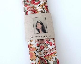 Twist attache bandeau Twist sur bandeau bandeau réversible coton bandeau Bohème serre-tête cheveux accessoire