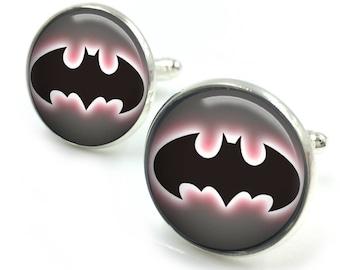 Batman Cufflinks, batman, joker, the joker, dc comics, avengers, dc comics, gifts for him