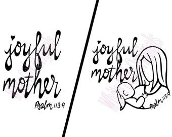 Joyful Mother design bundle