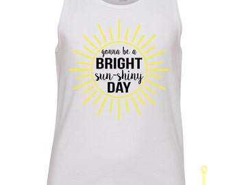 Bright Sun-Shiny Day Youth Tank
