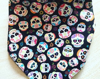 Dia de los Muertos (Day of the Dead) print bandana