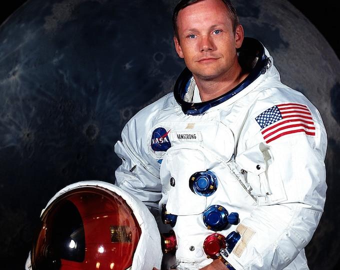 Neil Armstrong Apollo 11 Astronaut First Man on Moon - 5X7, 8X10 or 11X14 NASA Photo (EP-509)