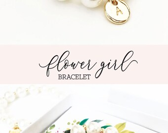 Flower Girl Proposal Bracelet Flower Girl Proposal Gift Flower Girl Gift Ideas Will You Be My Flower Girl Gift Bracelet  (EB3277M)