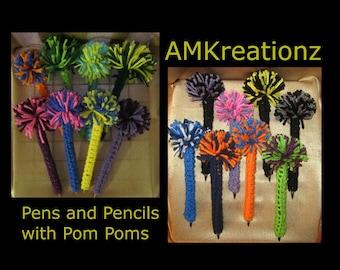 Pom Pom Pen or Pencil