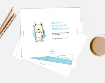 SHEET 2: Discover the language with Gustave (3-5 year)