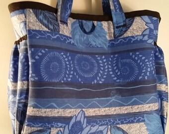 Tote style diaper bag