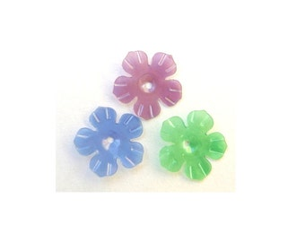 Flower sequins 30gr  vintage 3 colors