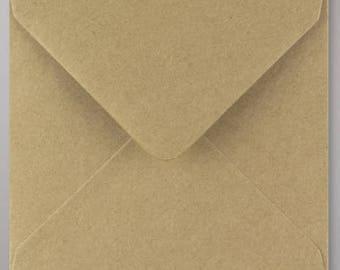 Matching invitations kraft speckled envelope