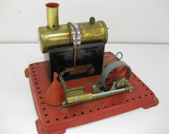 Antique Mamod Toy Steam Engine Made in England