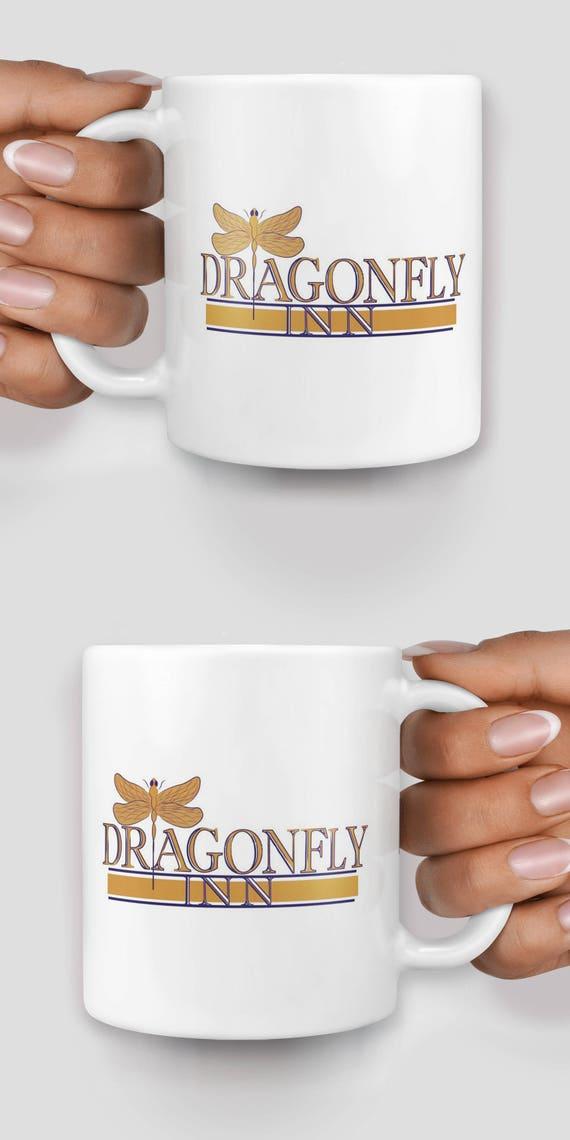 Dragonfly Inn Gilmore Girls Stars Hollow Connecticut mug - Christmas mug - Funny mug - Rude mug - Mug cup 4P065