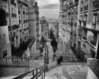 Paris Photography Black and White Paris Print