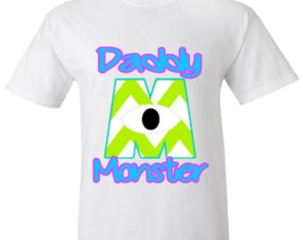 Monsters Inc Daddy Monster Tshirt