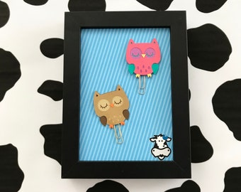 Hoot Owl Paperclips