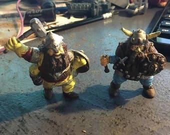 Dwarves Vintage Advanced Dungeons & Dragons Action Figure LJN 1984 Loose