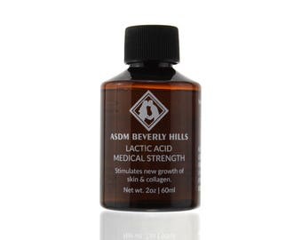 Lactic Acid Peel 40% 2oz Unbuffered, Full Strength, Great for hyperpigmentation