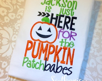 Fall Shirt, Boys Pumpkin Shirt, Pumkin Patch Personalized Shirt, Personalized Halloween Shirt, Boys Halloween Shirt, Halloween Shirt