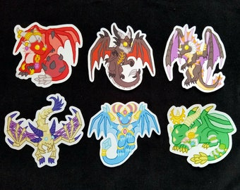 World of Warcraft Dragon Stickers - Alexstrasza - Deathwing - Onyxia - Sindragosa - Tarecgosa - Ysera - Vinyl Stickers - Dragon Stickers