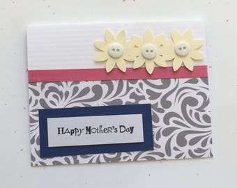 Card for Mom - Mother's Day Cards, Cards for Mom, Birthday Card for Mom, Handmade Greeting Card, Cards for Her, Mother's Day Greeting Cards