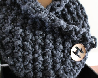 Georgia Cable Knit Loop Scarf