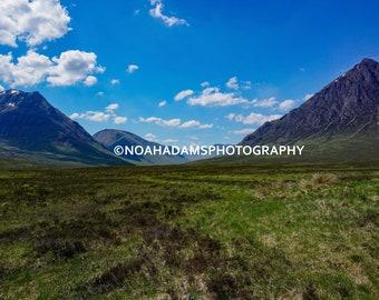 Scottish Highlands - Scotland (PRINT)