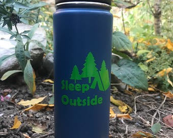 Sleep Outside Utah Vinyl Sticker