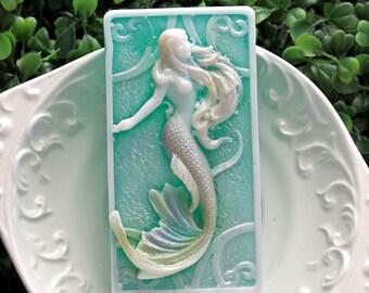 Mermaid - shea butter & olive oil soap