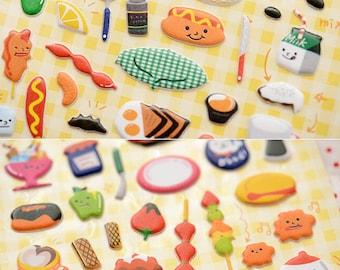 Sticker Daniel box - eat drink and dessert 3D (A 1064)