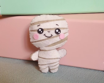 Mini plush Mummy Halloween