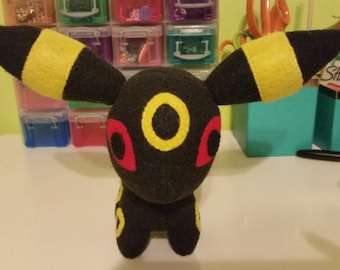 Felt Umbreon Eeveelution Pokemon Plush