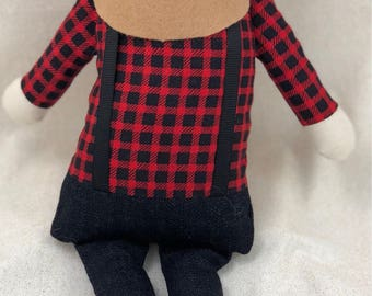 Lumberjack Man Doll