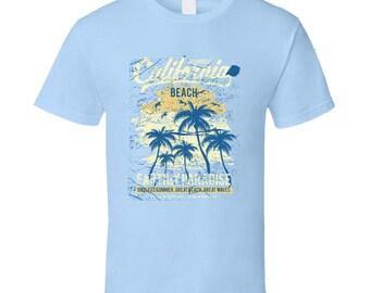 Los Angeles California Beach T Shirt
