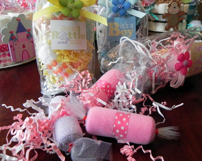 Washcloth Candy Bag - Unique Baby Shower Gifts