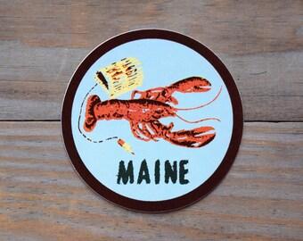 Maine Lobster Vinyl Sticker
