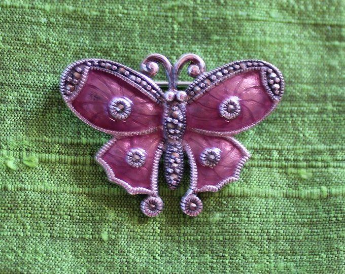 Featured listing image: Butterfly enamel pin
