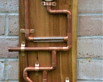 High Quality Steampunk Wall Art Home Decor Wood Copper