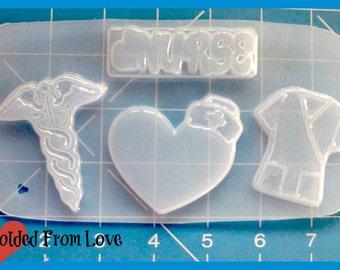 Medical pallet #2   Handmade Flexible Plastic Resin Mold