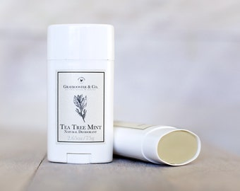Tea Tree Mint - Natural Deodorant