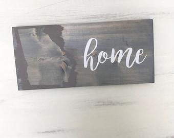 Georgia Sign, Home Sign, State Wood Sign, Home Decor, Farm Decor, Rustic Decor, Farmhouse