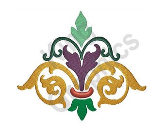Flourish - Machine Embroidery Design