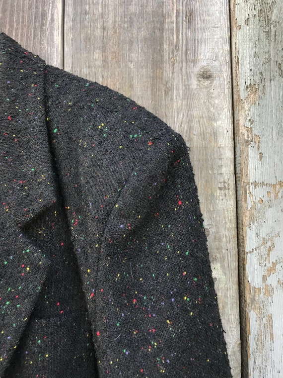 Vintage 12 Vintage Womens Speckled Blazer Clothing Wool Blazer Blazer Speckled Womens Wonderful Womens Wool Multi Colored Zq1ZFwO