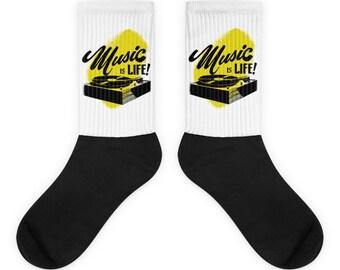 Music is Life! Socks